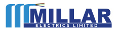 millar electrics logo